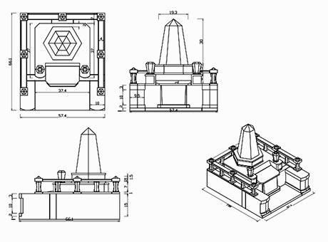 お墓の設計図作成無料