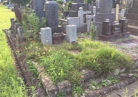 お墓の雑草対策