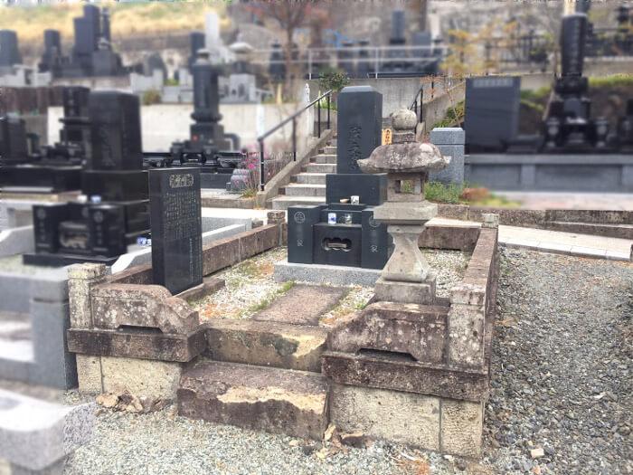 墓石を利用しての建替え5