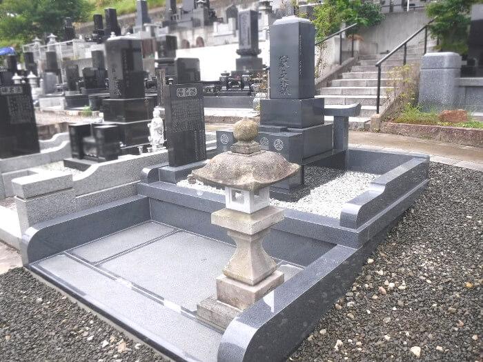 墓石を利用しての建替え6