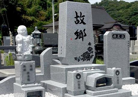 和型のお墓を現代風に魅力的に