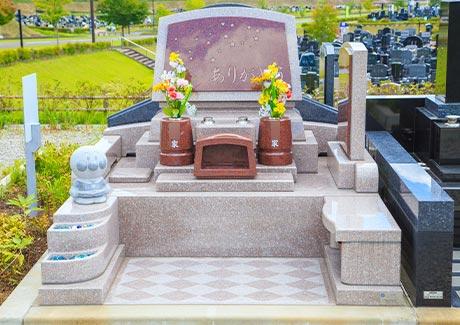 洋型墓石はカラーが豊富