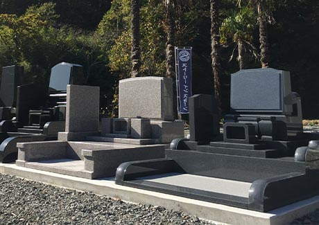 洋型のお墓は耐震に強い