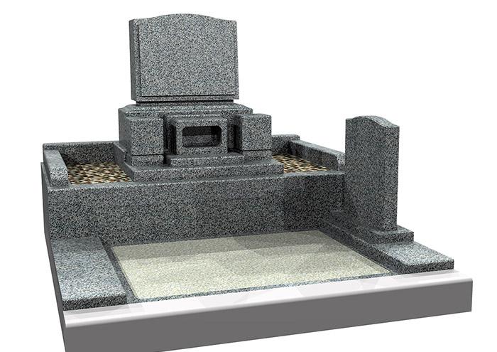 洋型墓石セット